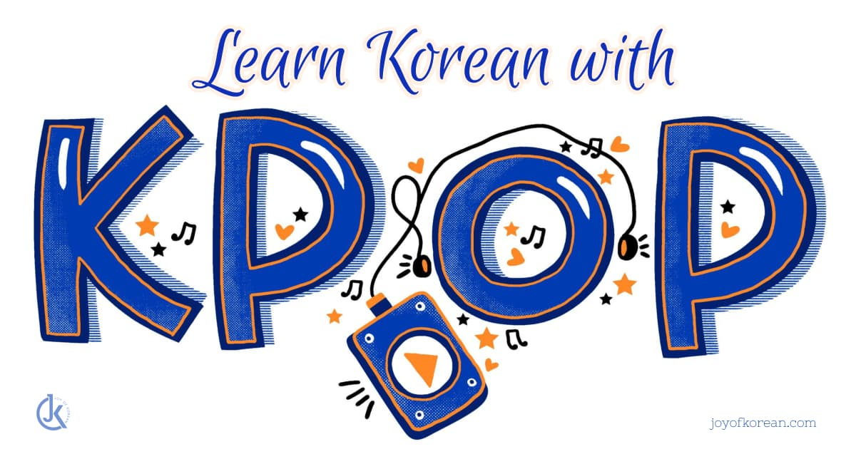 Learning Korean with Kpop
